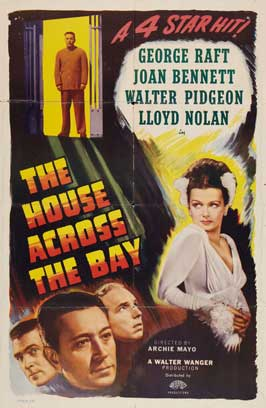 The House Across the Bay - 11 x 17 Movie Poster - Style B