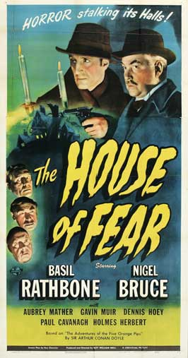 The House of Fear - 11 x 17 Movie Poster - Style C