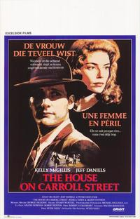 The House on Carroll Street - 11 x 17 Movie Poster - Belgian Style A