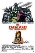 The House that Dripped Blood - 11 x 17 Movie Poster - UK Style A