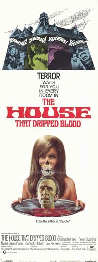 The House that Dripped Blood - 11 x 17 Movie Poster - Style A