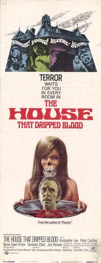 The House that Dripped Blood - 14 x 36 Movie Poster - Insert Style A