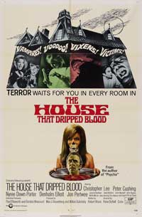 The House that Dripped Blood - 11 x 17 Movie Poster - Style B