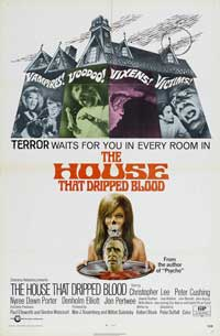The House that Dripped Blood - 11 x 17 Movie Poster - Style C