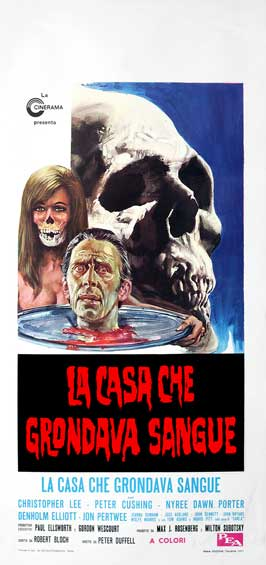 The House that Dripped Blood - 13 x 28 Movie Poster - Italian Style A