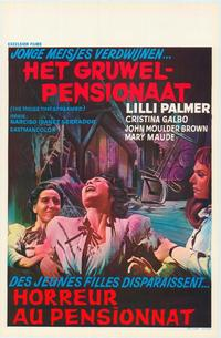 The House That Screamed - 11 x 17 Movie Poster - Belgian Style A