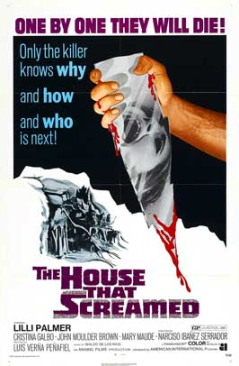 The House That Screamed - 11 x 17 Movie Poster - Style A