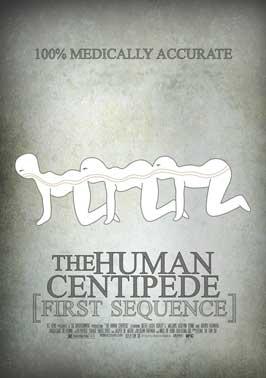 Risultati immagini per the human centipede poster