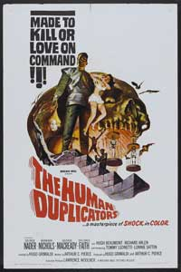 The Human Duplicators - 11 x 17 Movie Poster - Style A