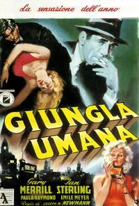 The Human Jungle - 27 x 40 Movie Poster - Italian Style A