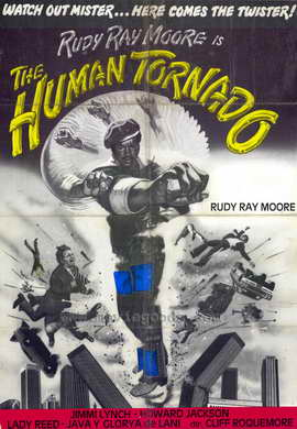 The Human Tornado - 27 x 40 Movie Poster - Style A