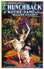 The Hunchback of Notre Dame - 11 x 17 Movie Poster - Style A