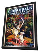 The Hunchback of Notre Dame - 11 x 17 Movie Poster - Style A - in Deluxe Wood Frame