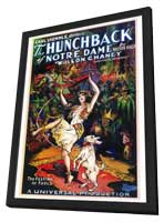 The Hunchback of Notre Dame - 27 x 40 Movie Poster - Style A - in Deluxe Wood Frame