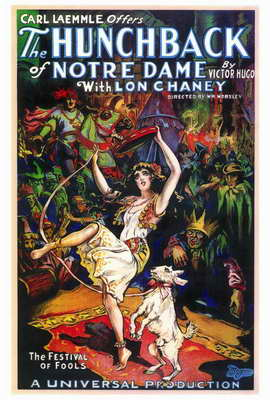 The Hunchback of Notre Dame - 27 x 40 Movie Poster - Style A