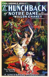 The Hunchback of Notre Dame - 43 x 62 Movie Poster - Bus Shelter Style A