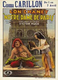 The Hunchback of Notre Dame - 27 x 40 Movie Poster - Belgian Style A