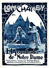 The Hunchback of Notre Dame - 11 x 17 Movie Poster - Spanish Style A