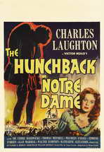 The Hunchback of Notre Dame - 27 x 40 Movie Poster - Style B