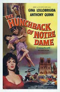 The Hunchback of Notre Dame - 43 x 62 Movie Poster - Bus Shelter Style B