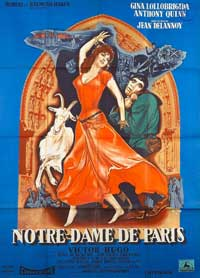 The Hunchback of Notre Dame - 11 x 17 Movie Poster - French Style C