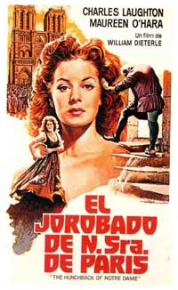 The Hunchback of Notre Dame - 11 x 17 Movie Poster - Spanish Style B