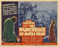 The Hunchback of Notre Dame - 11 x 17 Movie Poster - Style E