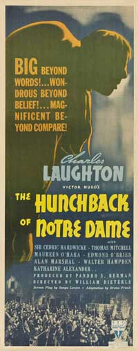 The Hunchback of Notre Dame - 11 x 17 Movie Poster - Style G