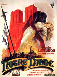 The Hunchback of Notre Dame - 11 x 17 Movie Poster - Spanish Style D