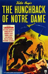 The Hunchback of Notre Dame - 11 x 17 Movie Poster - Style H