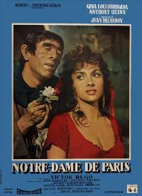 The Hunchback of Notre Dame - 11 x 17 Movie Poster - French Style A