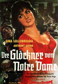 The Hunchback of Notre Dame - 27 x 40 Movie Poster - German Style A
