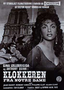 The Hunchback of Notre Dame - 27 x 40 Movie Poster - Danish Style B