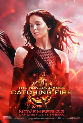 The Hunger Games: Catching Fire - 27 x 40 Movie Poster - Style H