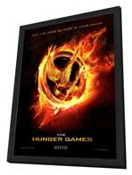 The Hunger Games - 27 x 40 Movie Poster - Style I - in Deluxe Wood Frame