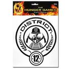 The Hunger Games - Movie District 12 Stickers