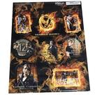 The Hunger Games - Movie Sticker Set 8-Pack