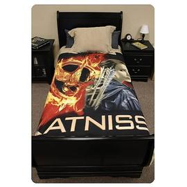 The Hunger Games - Movie Katniss Everdeen Polar Fleece Bed Throw