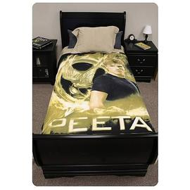 The Hunger Games - Movie Peeta Mellark Polar Fleece Bed Throw