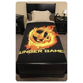 The Hunger Games - Movie Mockingjay Polar Fleece Bed Throw