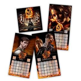 The Hunger Games - The Movie 2013 16 Month Wall Calendar