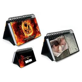 The Hunger Games - The Movie 2013 16 Month Desk Calendar