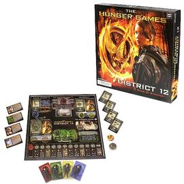 The Hunger Games - District 12 Strategy Board Game