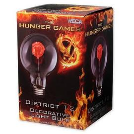 The Hunger Games - Movie District 12 Decorative Light Bulb