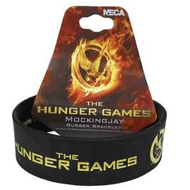 The Hunger Games - Movie Mockingjay Rubber Bracelet
