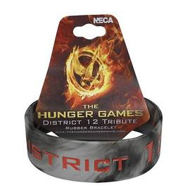 The Hunger Games - Movie District 12 Tribute Rubber Bracelet