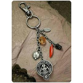 The Hunger Games - Movie District 12 Coal Mining Clip-On Key Chain