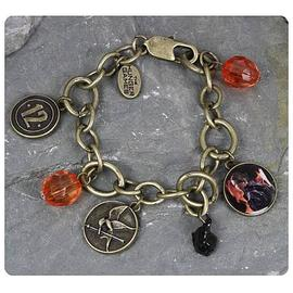 The Hunger Games - Movie Katniss District 12 Charm Bracelet