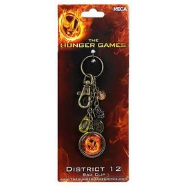 The Hunger Games - Movie District 12 Clip-On Key Chain