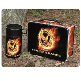 The Hunger Games - Movie Mockingjay Lunch Box With Drinking Cup